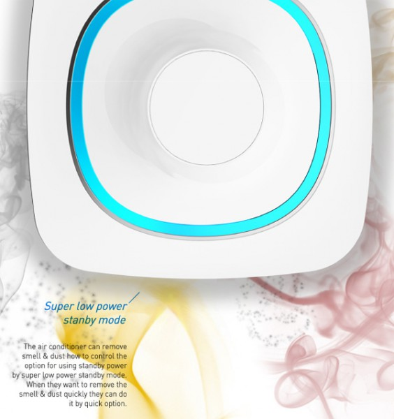 Water Wave: концепт кондиционера с визуальными и аудио эффектами-5