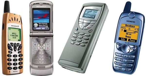 Телефоны прошлых лет samsung 2000 годов
