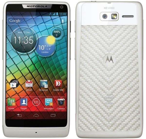 Motorola RAZR i: первый в мире смартфон с 2 ГГц ...