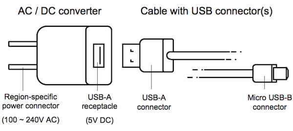 Типовая схема зарядного