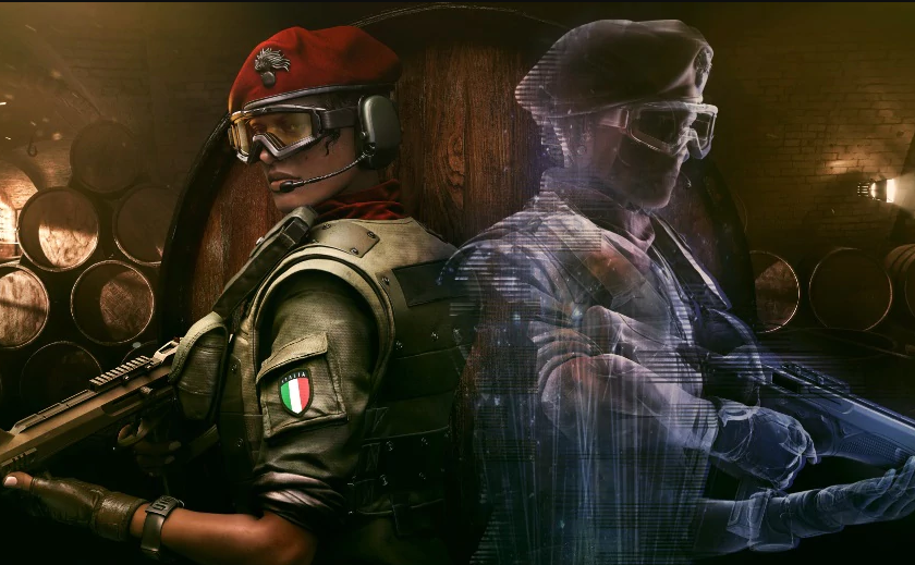 Ubisoft showed a new operative Rainbow Six Siege with a cool gadget