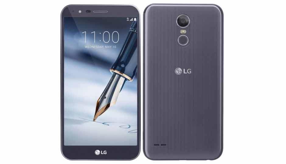 Винтернете появилось первое изображение телефона LGStylo 4 состилусом