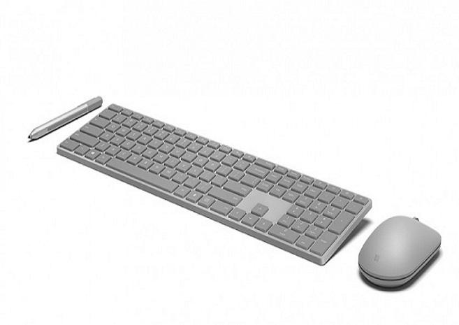 Клавиатура Microsoft Modern Keyboard имеет специальную кнопку сдатчиком отпечатка пальца