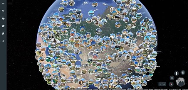 Google представила новую функцию Google Earth