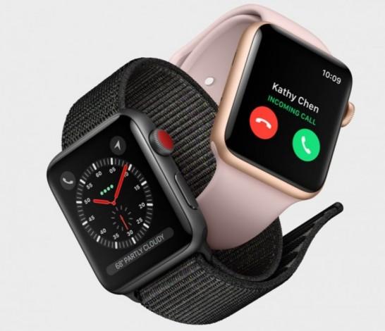Компания Apple официально начала продажи часов Apple Watch Series 3