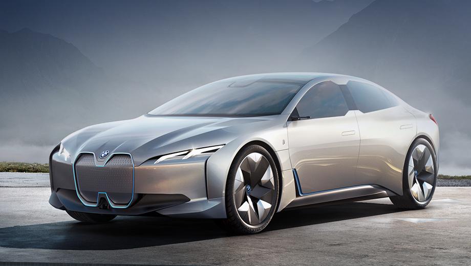 BMW представила неоднозначный электрокар с запасом хода в 600 км
