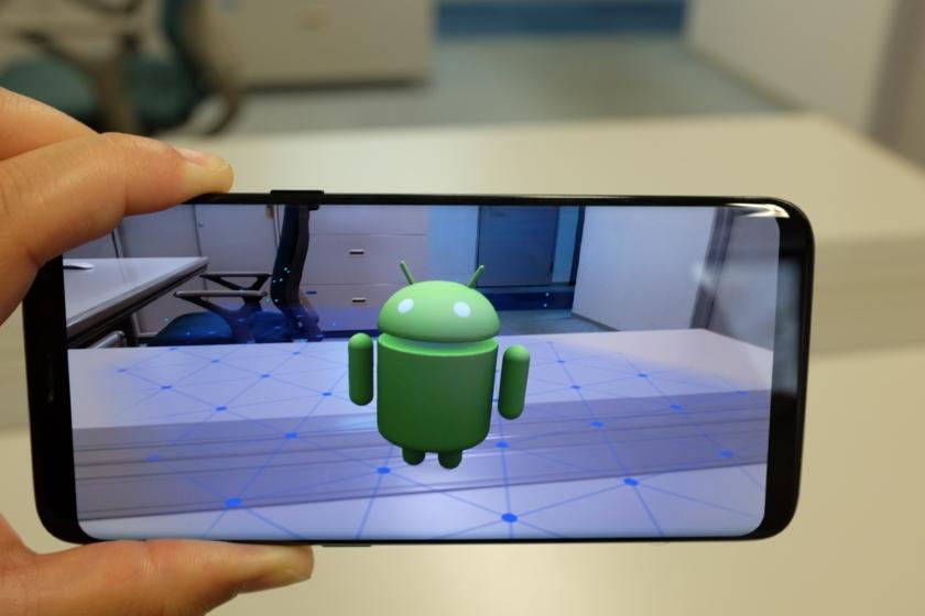 Samsung Galaxy S9 и Galaxy S9+ теперь поддерживают ARCore