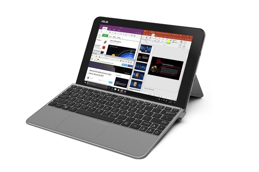 Компания Asus показала новейшую гибридную разработку ноутбука, превращающуюся впланшет