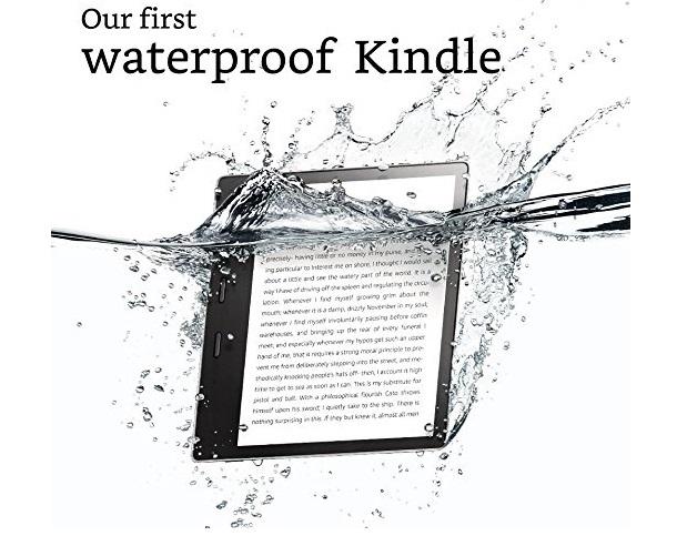 Amazon представила водонепроницаемую электронную книгу