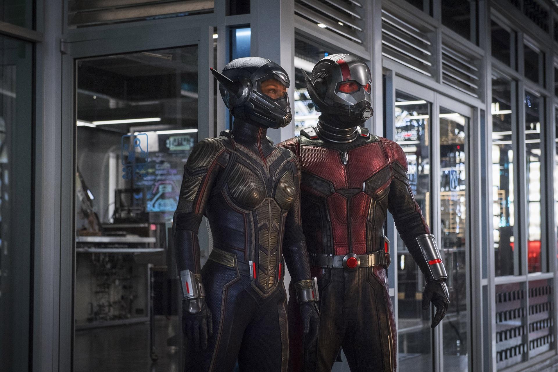 Киностудия Marvel показала 1-ый трейлер «Человека-муравья иОсы»