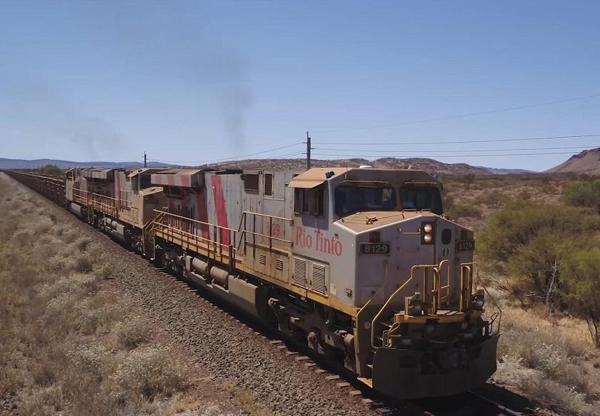 ВАвстралии запустили автономный поезд