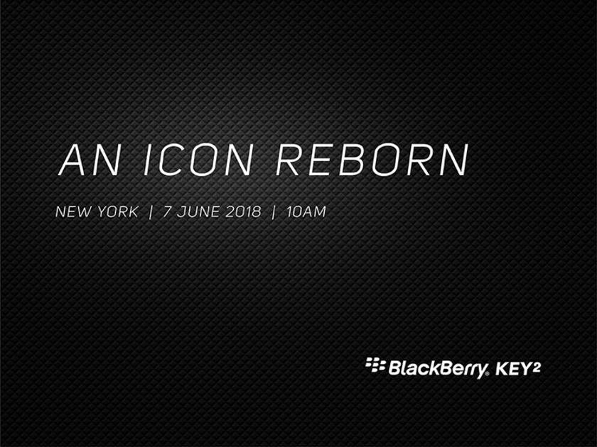 BlackBerry объявила дату анонса KEYone 2