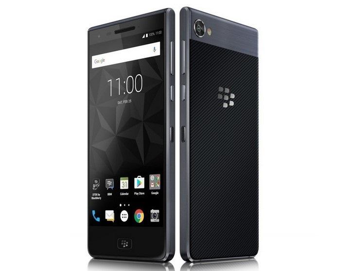 Представлен смартфон BlackBerry Motion с водозащитой и батареей на 4000 мАч