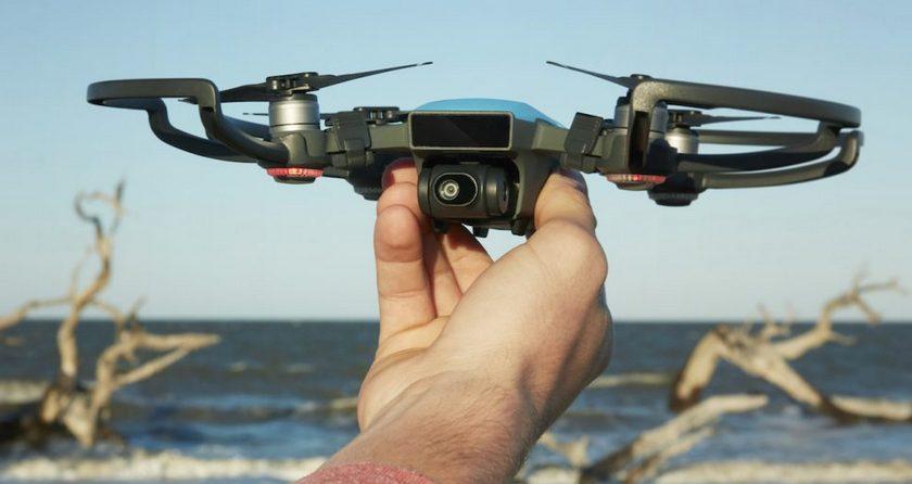 DJI представила собственный самый компактный и общедоступный дрон