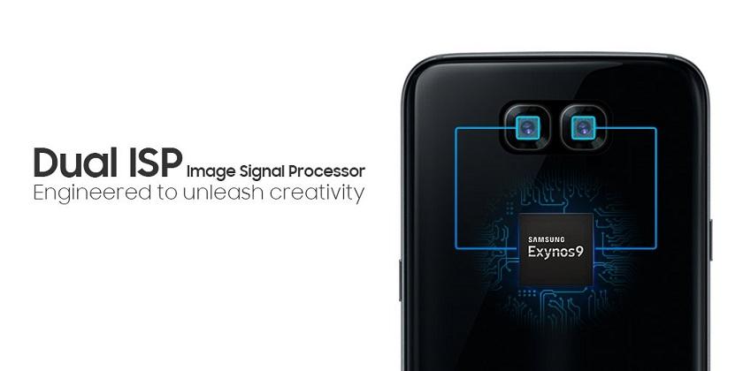 Чип Самсунг Exynos 8895 поддерживает работу сдвойными камерами