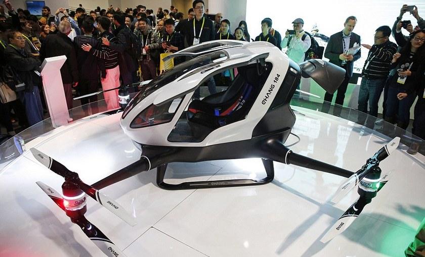 Летом в Дубае запустят беспилотное дрон-такси