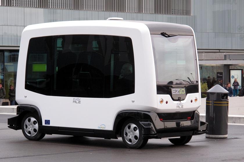 Вфинской столице начали курсировать автобусы-роботы