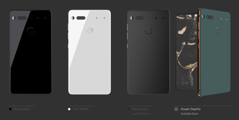 Essential will introduce PH-1 in a new color
