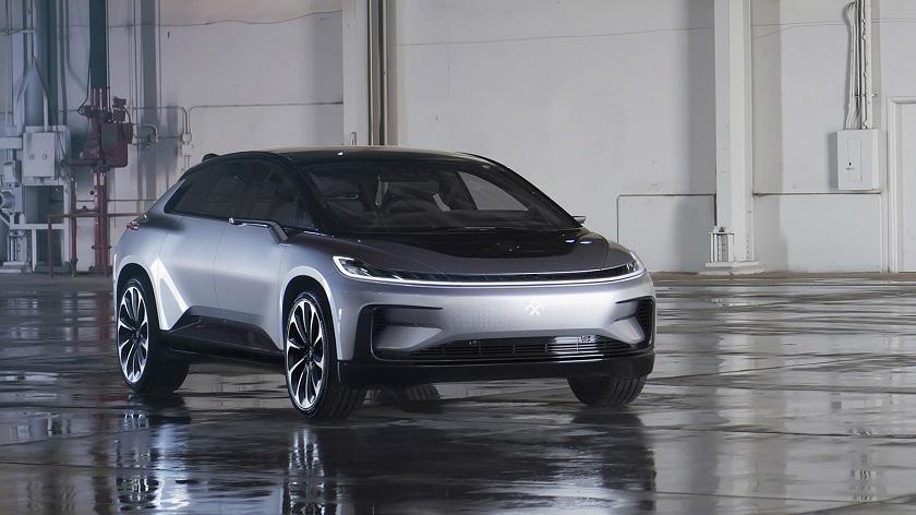 В 2018г. выходит новый электромобиль компании Faraday Future