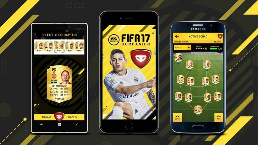 скачать игру на телефон Fifa 17 img-1