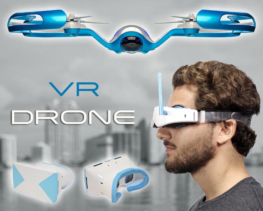 Купить flybi дрон с очками виртуальной реальности аксессуары для phantom mavic air combo advanced