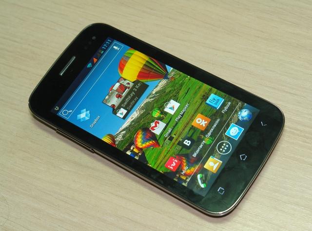 Беглый обзор android смартфона fly iq450 horizon