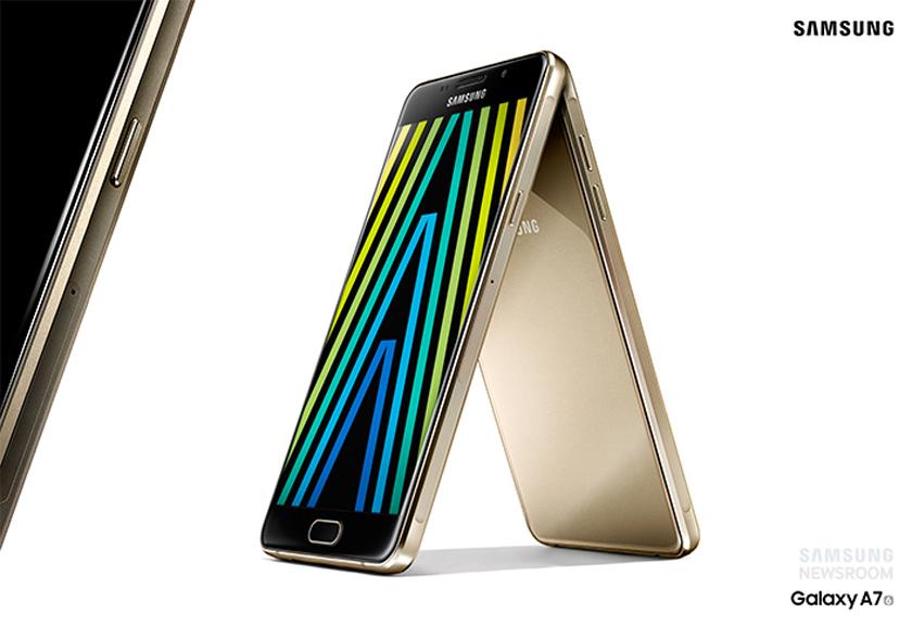 Samsung представила обновленную линейку смартфонов Galaxy A (2016)