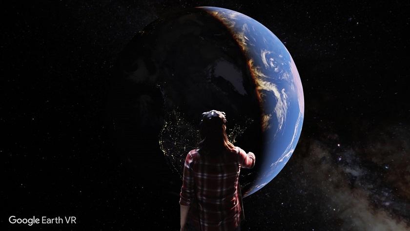 Сервис Google Earth сейчас доступен иввиртуальной реальности