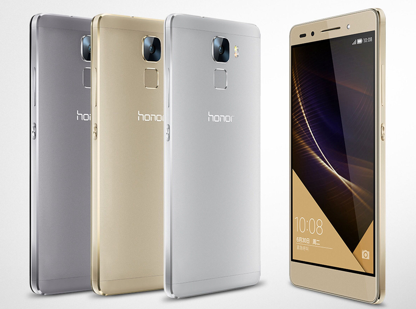 Huawei Honor 7 на фото и видео