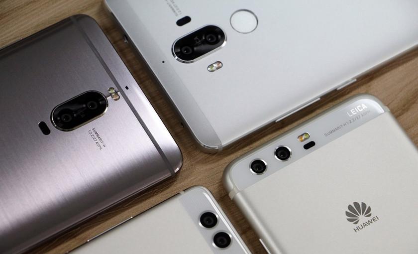 Флагман Huawei P11 получит вырез дисплея, как у iPhone X