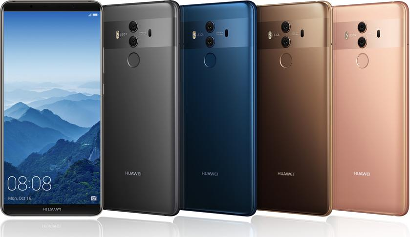 Huawei starts selling the flagship of Huawei Mate 10 Pro on the territory of Ukraine