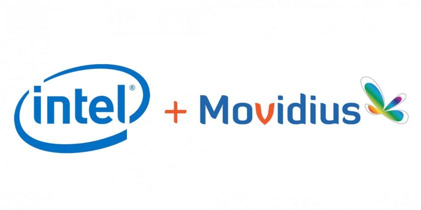 Intel приобретает Movidius, производителя компактных чипов для VR, дронов ироботов