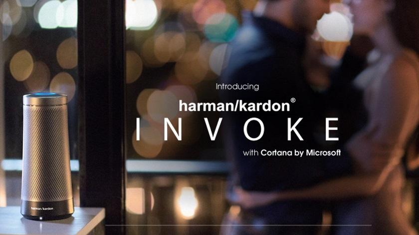 Microsoft и Harman/Kardon анонсировали Invoke: конкурента Amazon Echo и Google Home