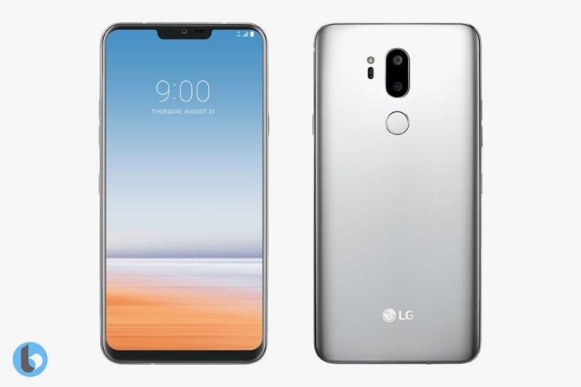 Смартфон LG G7 ThinQ показался на шпионских фото