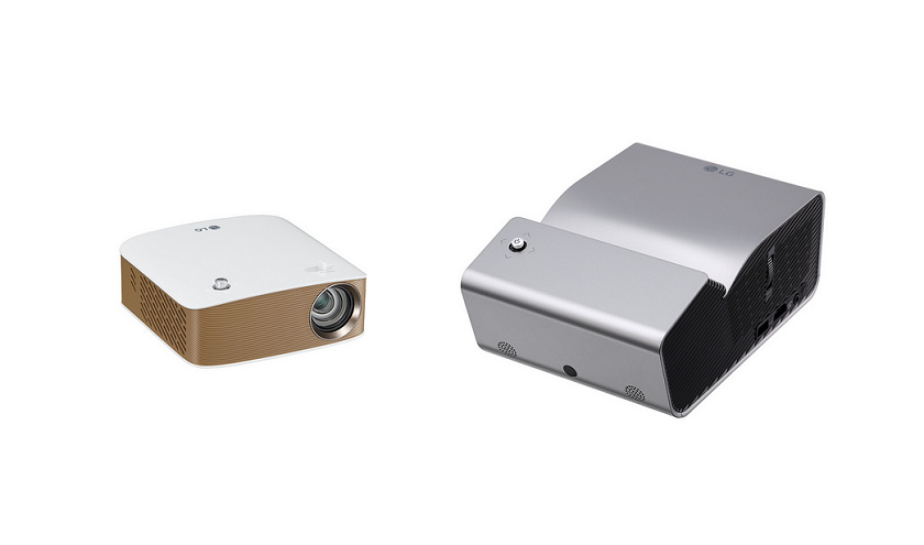 LGанонсировала два беспроводных проектора врамках серии Minibeam