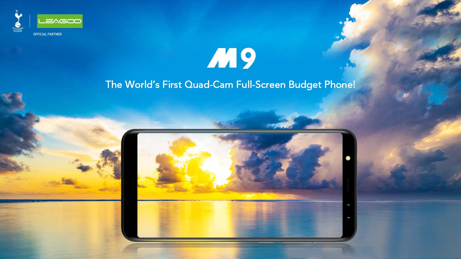Полноэкранный смартфон Leagoo M9 с4 камерами будет стоить 80 долларов
