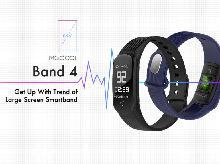 Фитнес-трекер MGCOOL Band 4: стильная и дешевая замена Xiaomi Mi Band 2