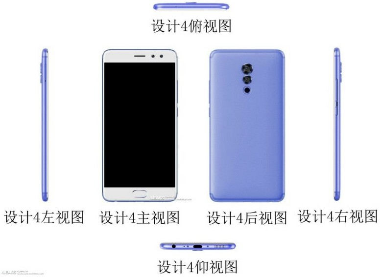 The web appeared pictures of budget and four-eyed Meizu M6s