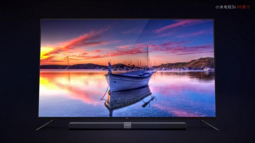 Xiaomi анонсировала 64-дюймовый 4K-телевизор MiTV 3S за $899
