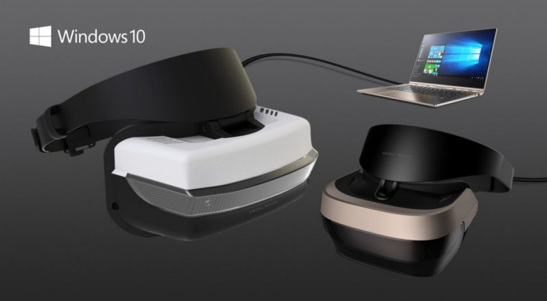 Microsoft рассказала о VR-шлемах на Windows за $300