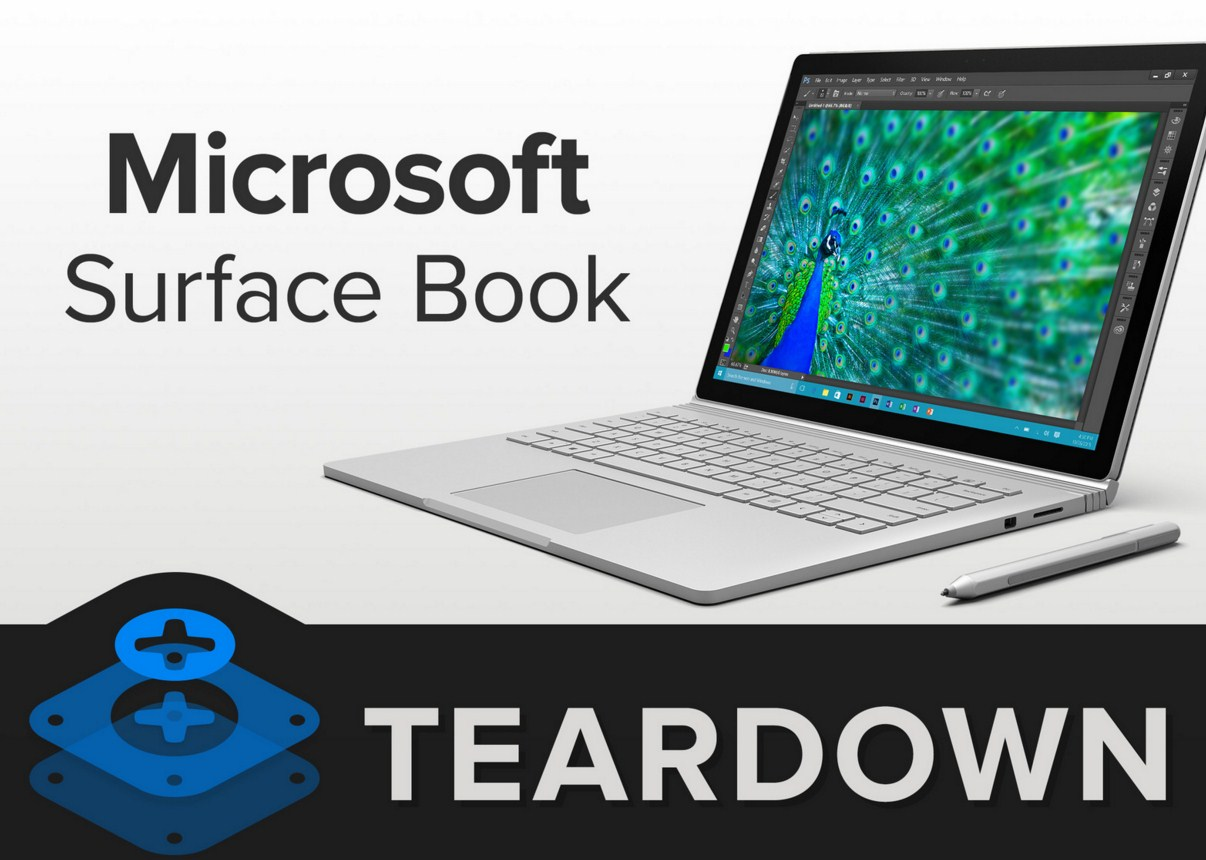 Microsoft Surface Book 2 нельзя чинить