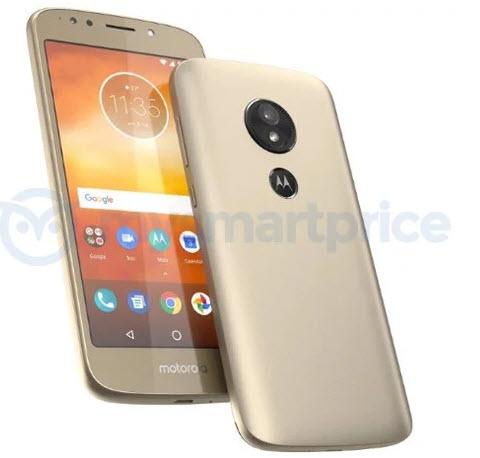 В Сети опубликовали изображение смартфона Moto E5