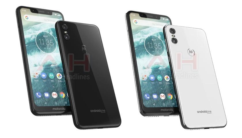Вглобальной паутине появились новые фото телефона Motorola One вбелом цвете