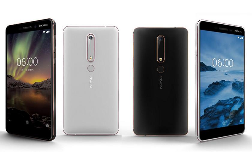 Смартфон Nokia 6.1 готовится к выходу в России (цены)
