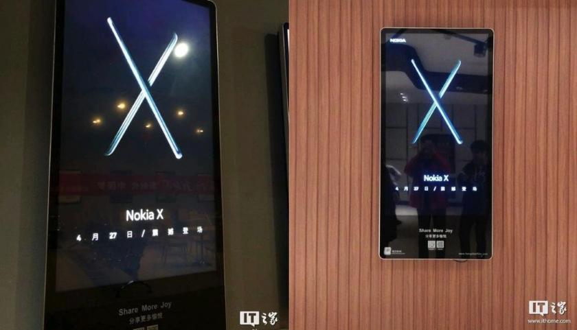 Смартфон нокиа X6 с«бровью» показался наживых фото