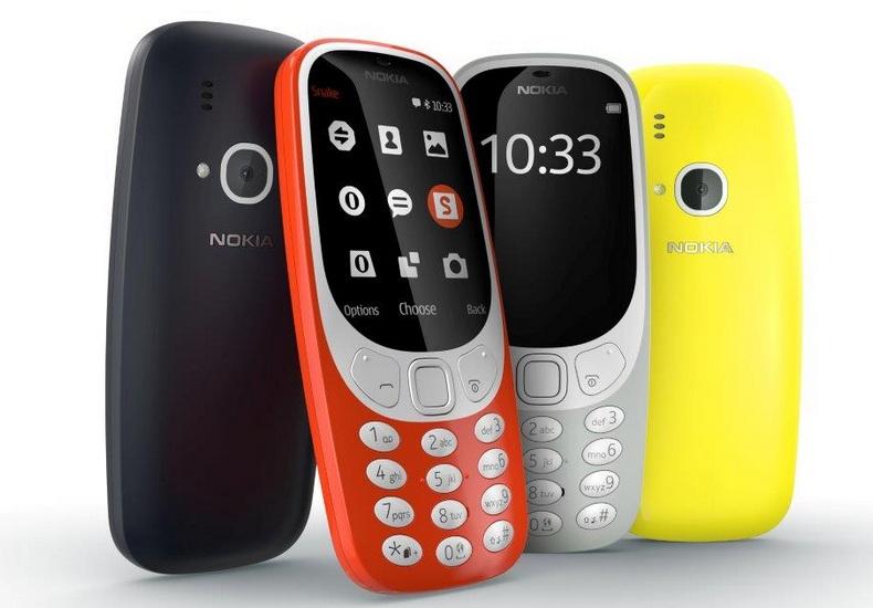 Нокиа 3310 стал самым ожидаемым телефоном в Российской Федерации