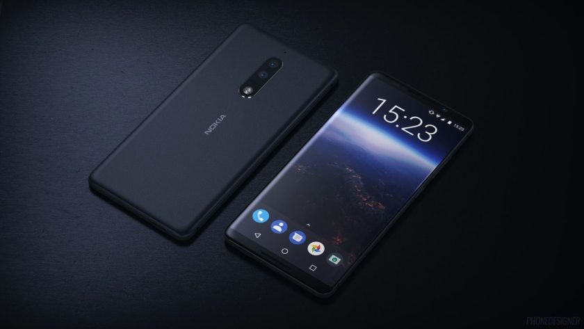 "Nokia 9 can get a ""monobrow"" and a fingerprint scanner under the screen"