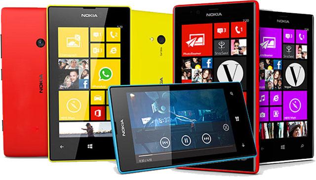 Nokia Lumia 520 Nokia Lumia 720