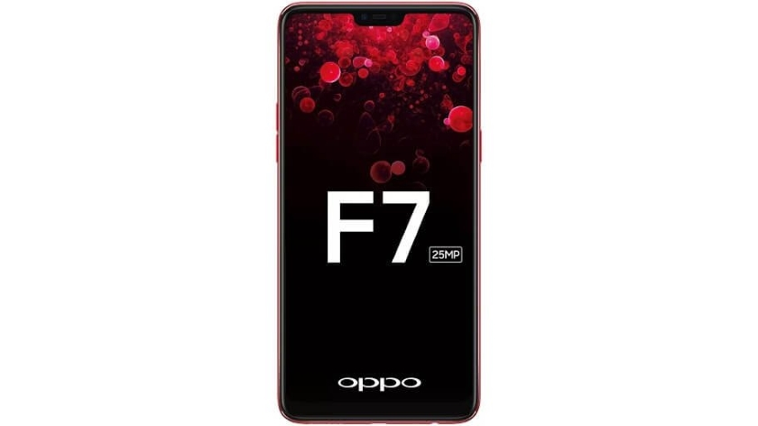 Official OPPO F7 poster: 25 MP front camera with AI functions