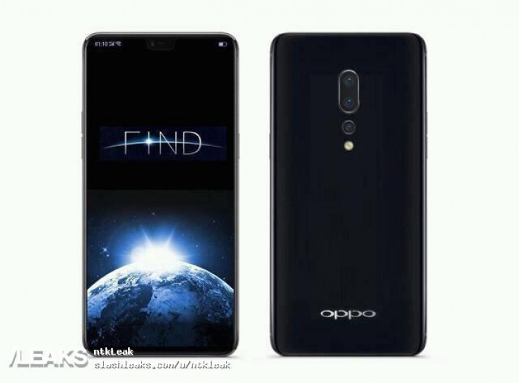 Oppo Find X: будущий клон iPhone X с тройной камерой и чипом Snapdragon 845